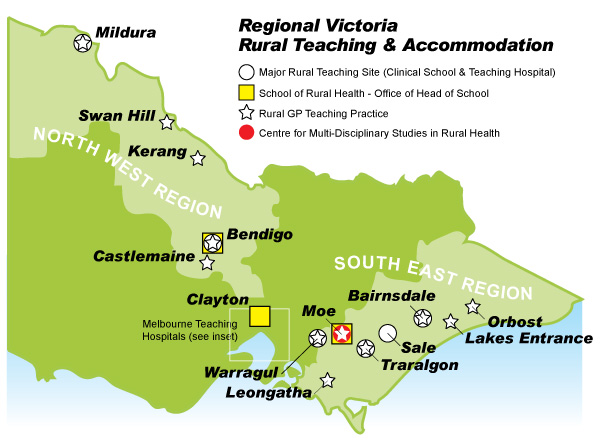 Regional Victoria Rural Teaching and Accommodation